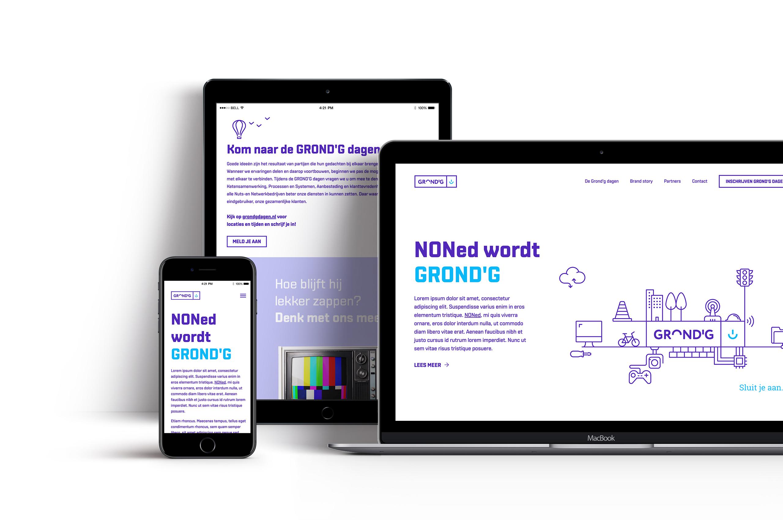 Micro-website Grond'g